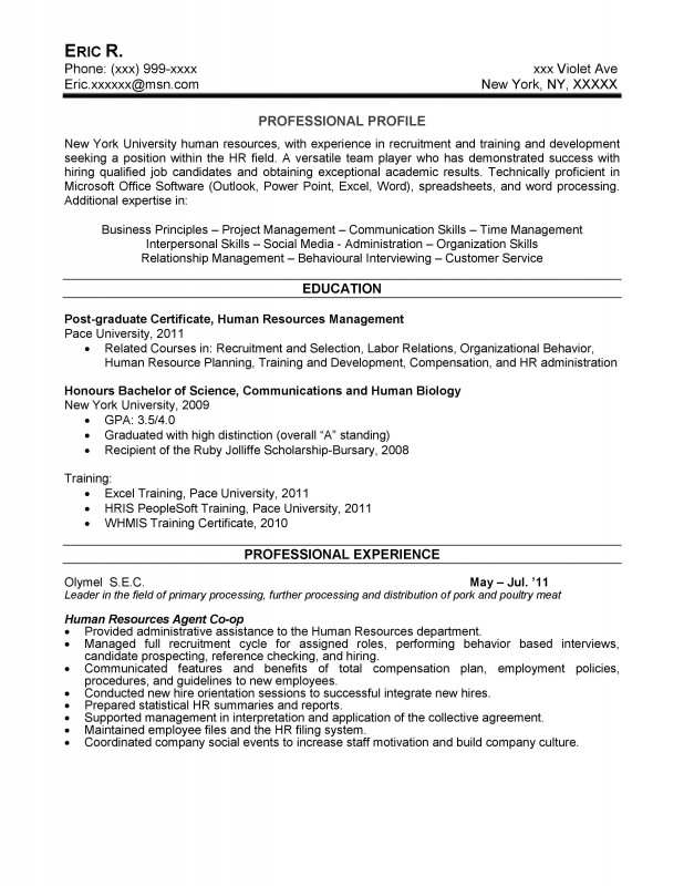 Entry Human Resources. HR Coordinator  Hr Coordinator Resume