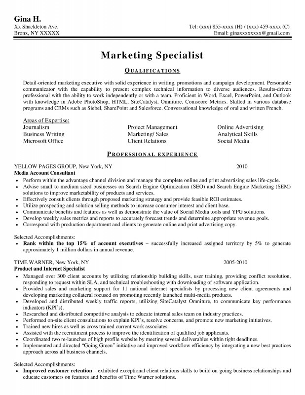 Professional Marketing  Best Resume Service