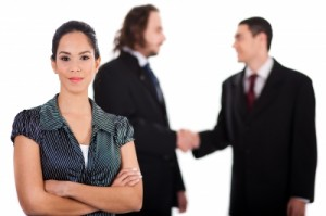 Business Women in Group Resume Service